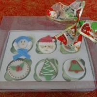 cupcakes para natal