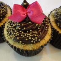 cupcake com lacinho