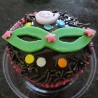 cupcake tematico de carnaval