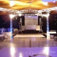 Estruturas para Eventos Empresariais com performances completas de som e luz