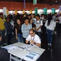 Evento em São Paulo, feira da FETPS.
