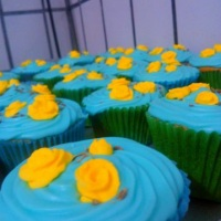 Cupcake  de erva doce