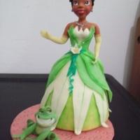 Topo de Bolo, A Princesa e o Sapo