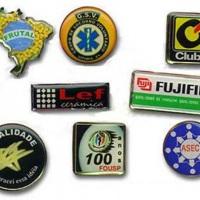 Boton de metal resinado ou Pins personalizado