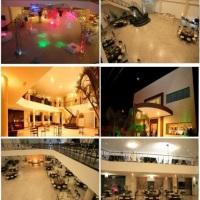 Salão de festa completo