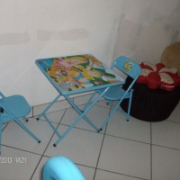 Mesas infantis decoradas
