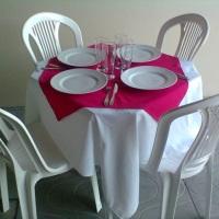 mesa c/4 cadeiras pvc