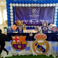 Decoração Liga dos Campões /Champions League