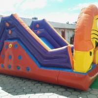 escalada escorrega leãozinho ideal para crianças de 3 a 9 anos medidas 3 metros de largura , 5 metro