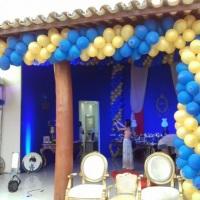 Scamalha Eventos, decoração de festas infantis painéis temáticos, correntes e arcos com balões, tens