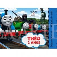 Convite ingresso Thomas e seus Amigos