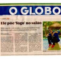 Recente Materia no jornal O Globo!