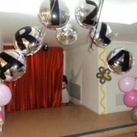 Arco com Balões Metalizados