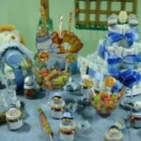 Trabalhamos com decorações Baby Chá.