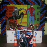 Decoração Homem Aranha.