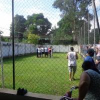 Campo de Futebol (4 na linha 1 no gol)
