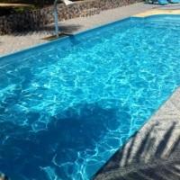 Foto da piscina de adulto.