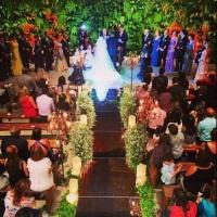 Cerimônia no Sítio São Jorge