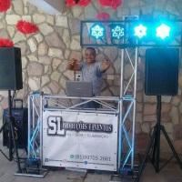Nossa estrutura que é sucesso onde passa com nosso DJ