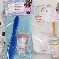 Kit Manicure + Kit Beleza personalizados! Tema Livre! Acompanha o acabamento em saquinho de celofane