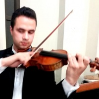 O requinte de um Violino em seu casamento.