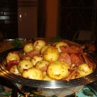 Batatas calabresas de padeiro