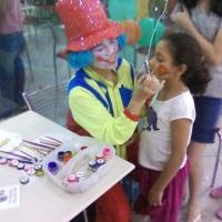 Maquiagem artística em festas
