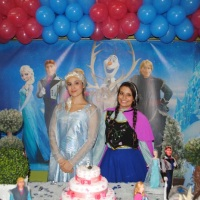 Personagens do Frozen Elza e Anna