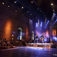 Gravação de DVD realizada no Teatro Polytheama. Fornecemos praticaveis, iluminação cenica e decorati