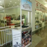 Balcão de Atendimento do 1º Clamor Profético no North Shopping Maracanau.