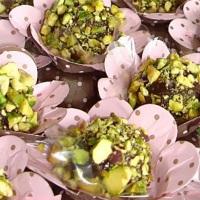 brigadeiro gourmet de pistache