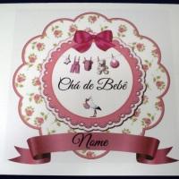 Convite de Chá de Bebê.