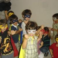Animação de super heróis
