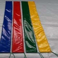 Capa vinílica para pirulito haste proteção cama elástica. Lona grossa kp1000 usado em brinquedos  i