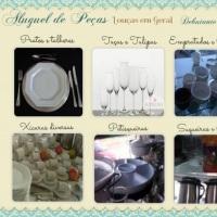 Pratos, copos e louças