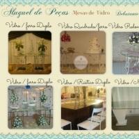Mesas de vidros