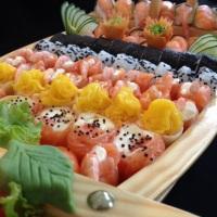 Nossas barcas de sushi para encomendar!