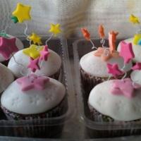 cupcakes estrela