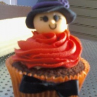 cupcakes temático- dia das bruxas