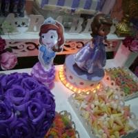 Decoração Infantil Realizada por SWL Tema Princesa Sofia