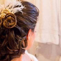 Pente para noiva. Foto: Voal Estúdio