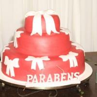 bolo da festa de 60 anos