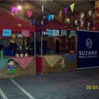 Festa Junina barracas típicas