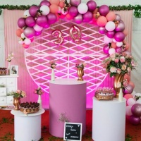 Mini table - Tons de rosa