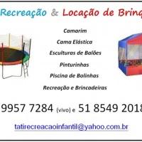 Banner Cama Elástica e Piscina de Bolinhas