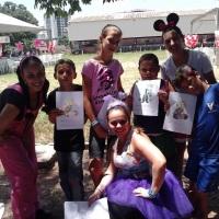 Evento com mais de 100 crianças!