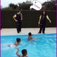 Recreação na piscina!!