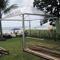 Tenda 6x6 m² cristal