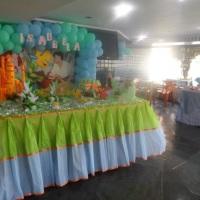 mesa decorada da Ariel