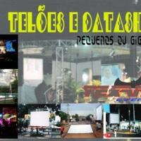 TELÃO E DATASHOW